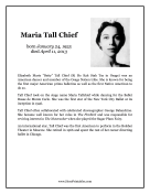 Maria Tall Chief