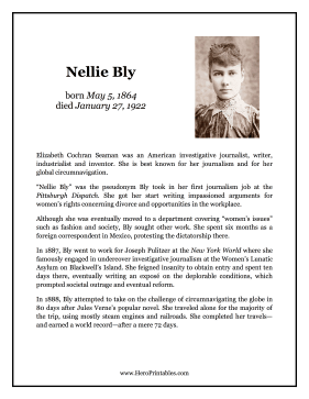 Nellie Bly Hero Biography